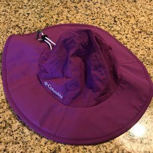 Columbia Purple Bucket Hat